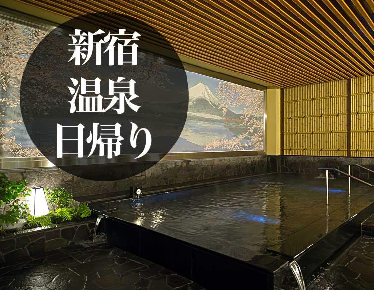 新宿 日帰り 温泉 銭湯