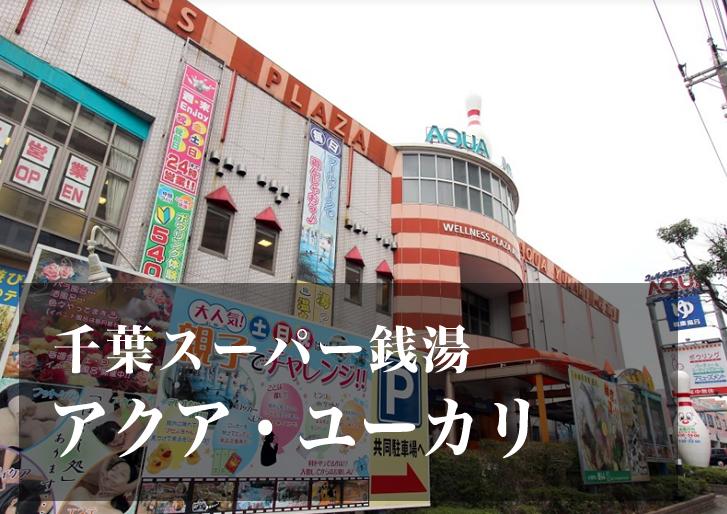 スーパー銭湯 千葉 アクア・ユーカリ 日帰り温泉