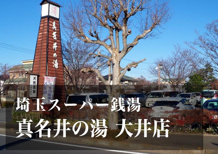スーパー銭湯 埼玉 真名井の湯大井店 日帰り温泉