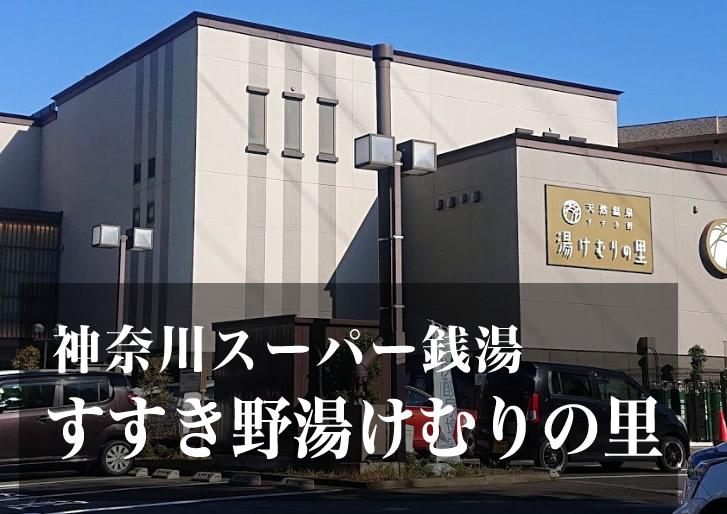 すすき野 湯けむりの里 神奈川 スーパー銭湯 日帰り温泉