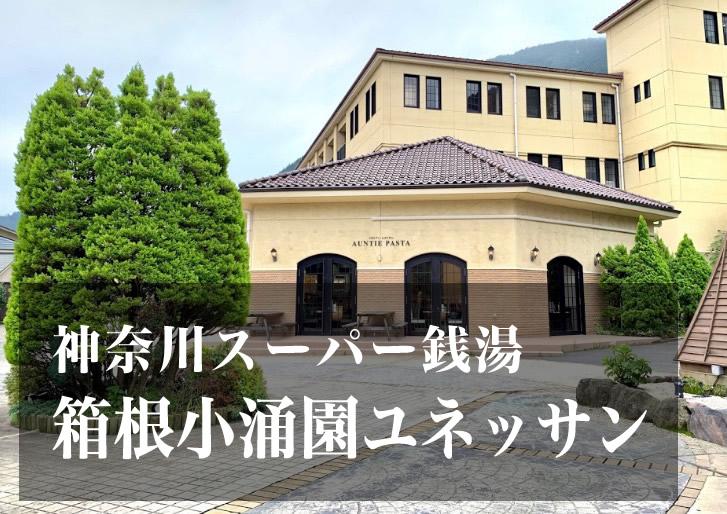 箱根小涌園 ユネッサン 神奈川 スーパー銭湯 日帰り温泉
